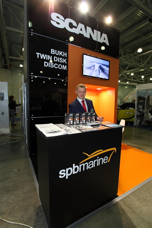 SPB Marine at the exhibition Moscow Boat Show - 2014