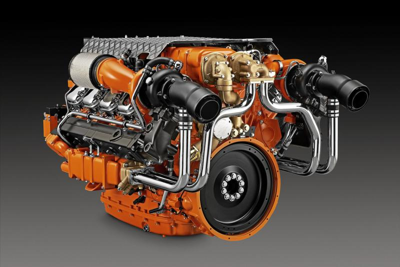Scania 16 Litre Marine Engine with XPI